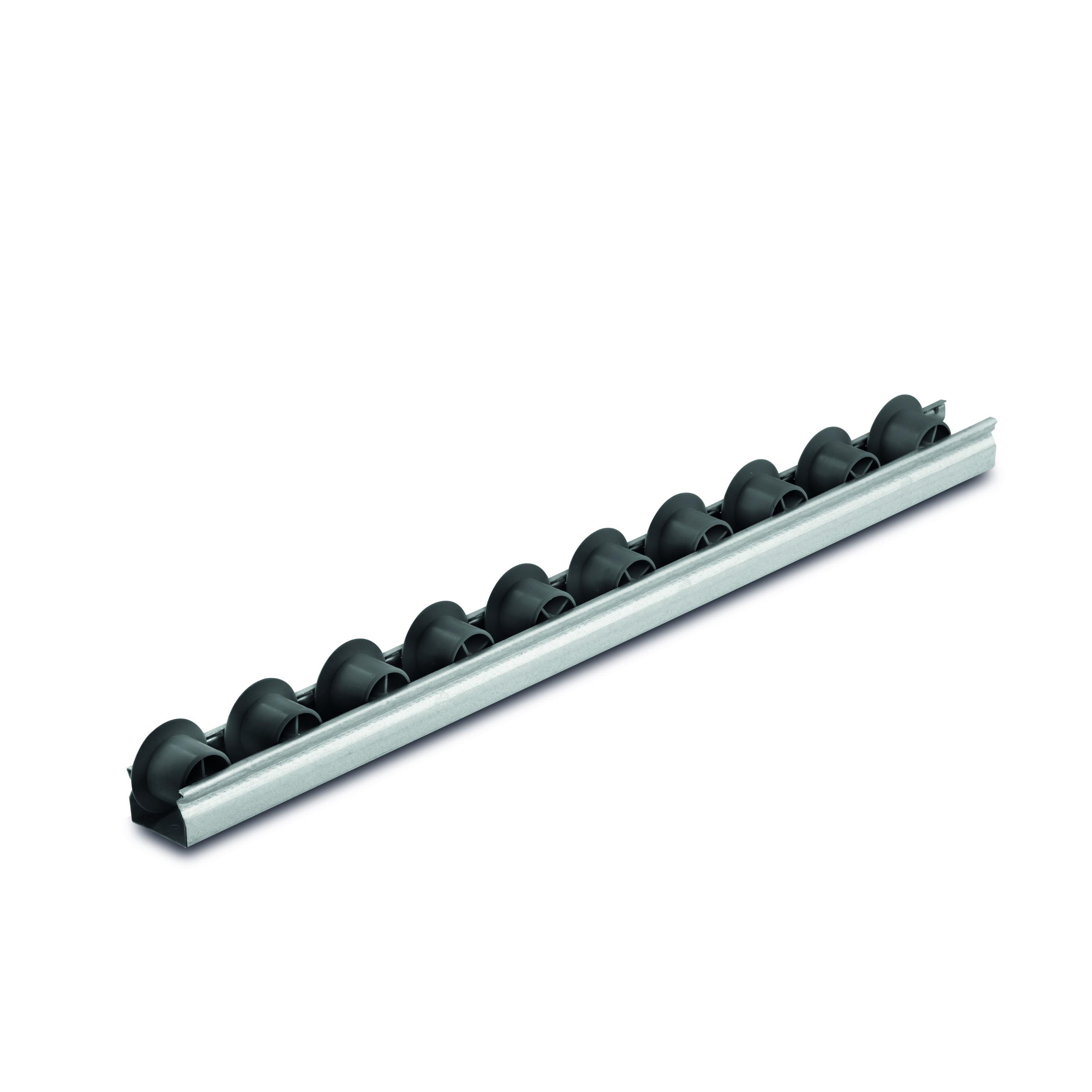 Billed af Mini rulleskinner, sporkans, op til 15 kg pr. rulle, profil 0,8 mm (804-serie)