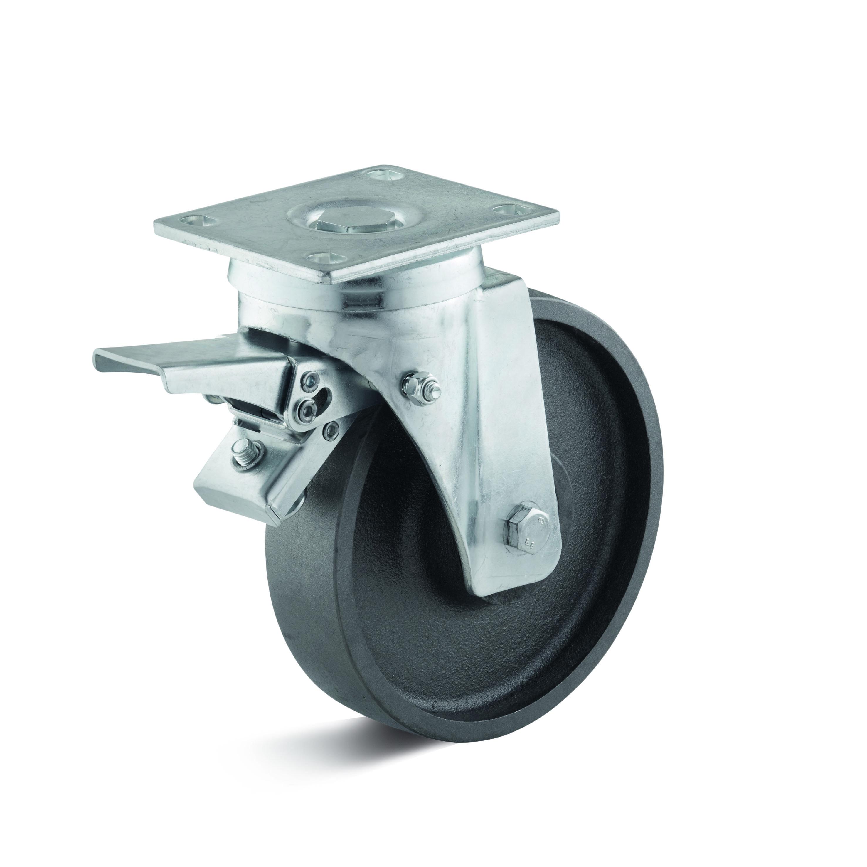 Billed af Sværlasthjul, støbegodshjul, svær gaffel, (8150-serie)