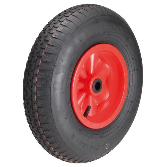 Billed af Luftgummihjul med kunststoffælge, (17-18-serie)