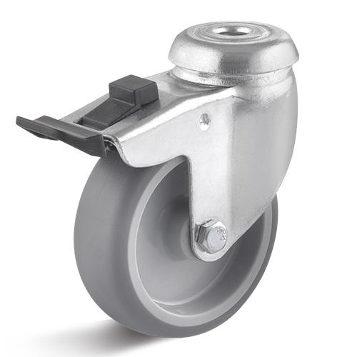 Billed af Apparathjul med glideleje 75 mm (0028122)