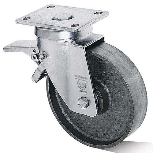 Billed af Støbegodshjul i svær gaffel (0018940)