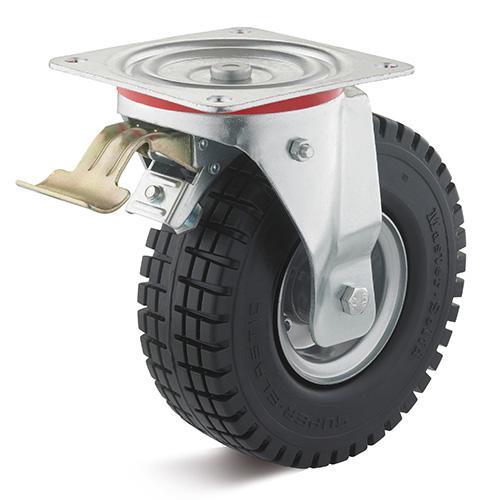 Billed af Luftgummihjul med stålfælg i gaffel (0018616)