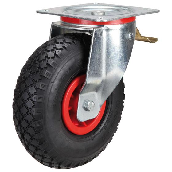 Billed af Luftgummihjul med kunststoffælge, (22-23-serie)