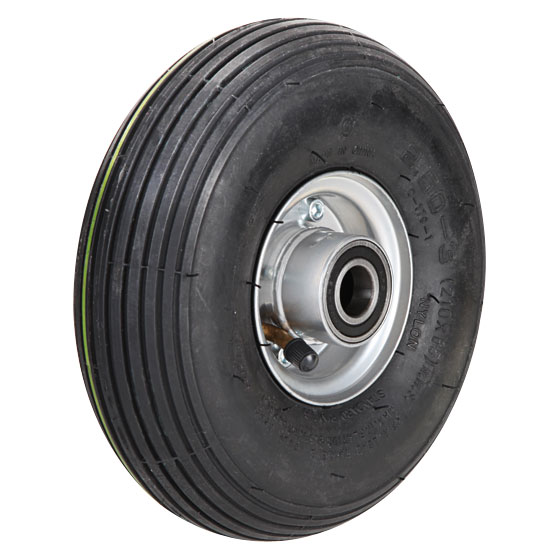Billed af Luftgummihjul med pulverlakeret stålfælge, (8-11-serie)