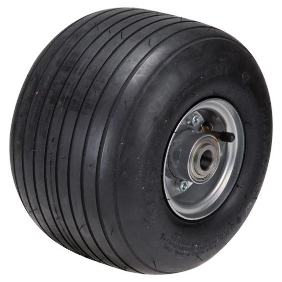 Billed af Luftgummihjul med pulverlakeret stålfælge, (13-15-serie)