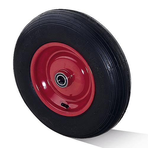 Billed af Luftgummihjul med stålfælg og kugleleje (0022862)