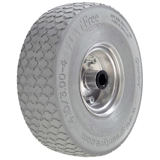 Billed af Blød polyuretanhjul, stålfælge, (27-serie)